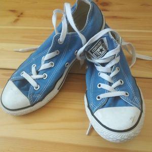 Converse Blue w/white Sz 3